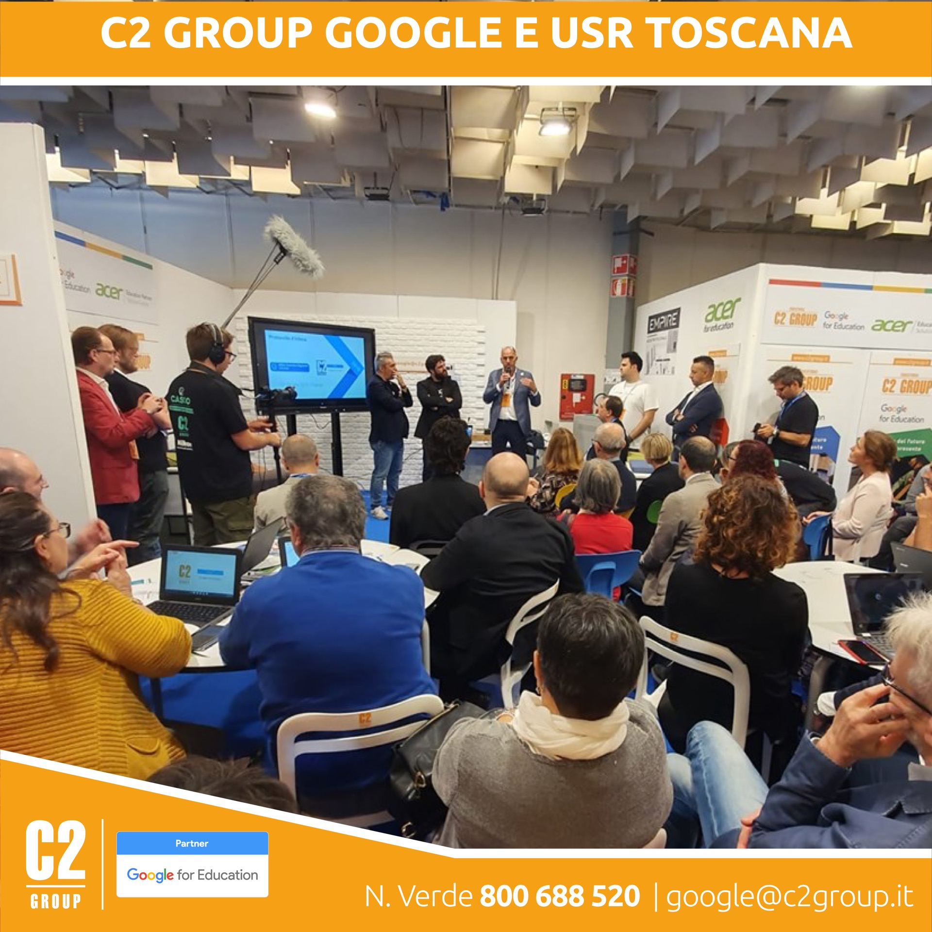 C2 GROUP Google USRToscana