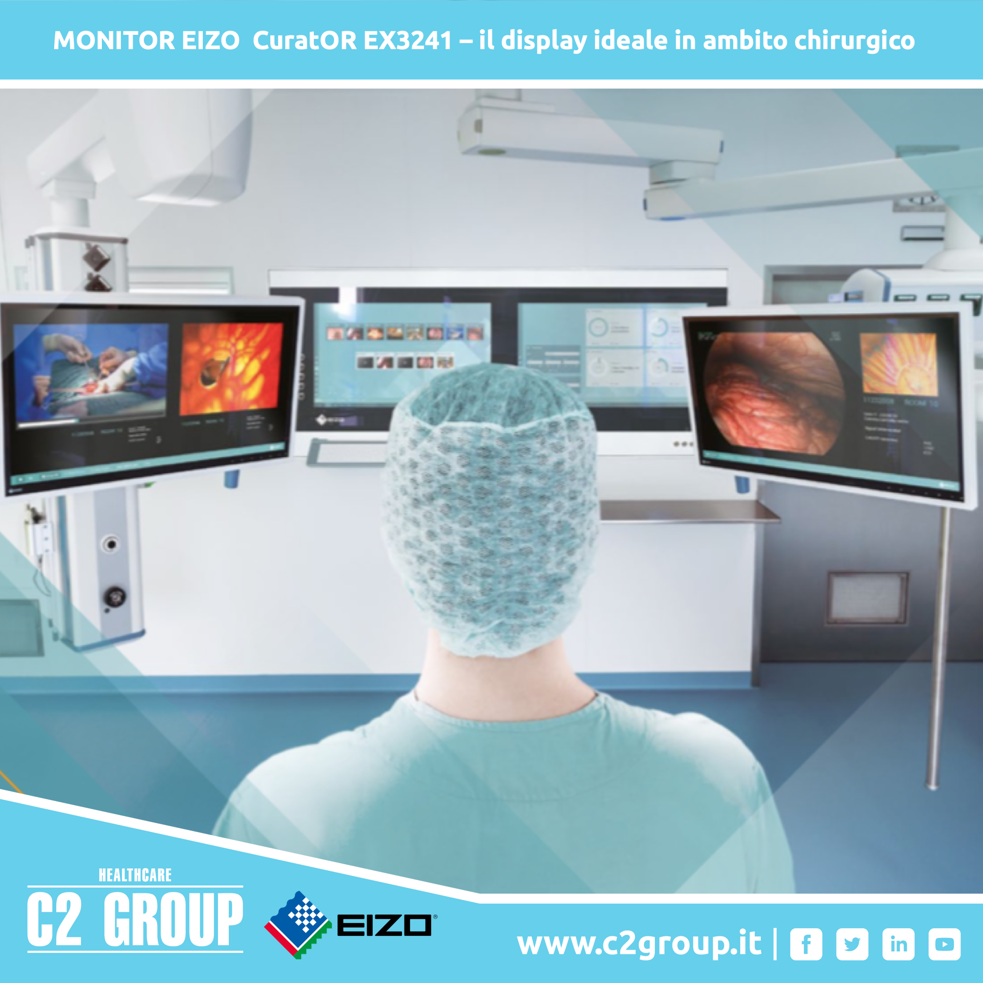 MONITOR EIZO 3241 C2GROUP
