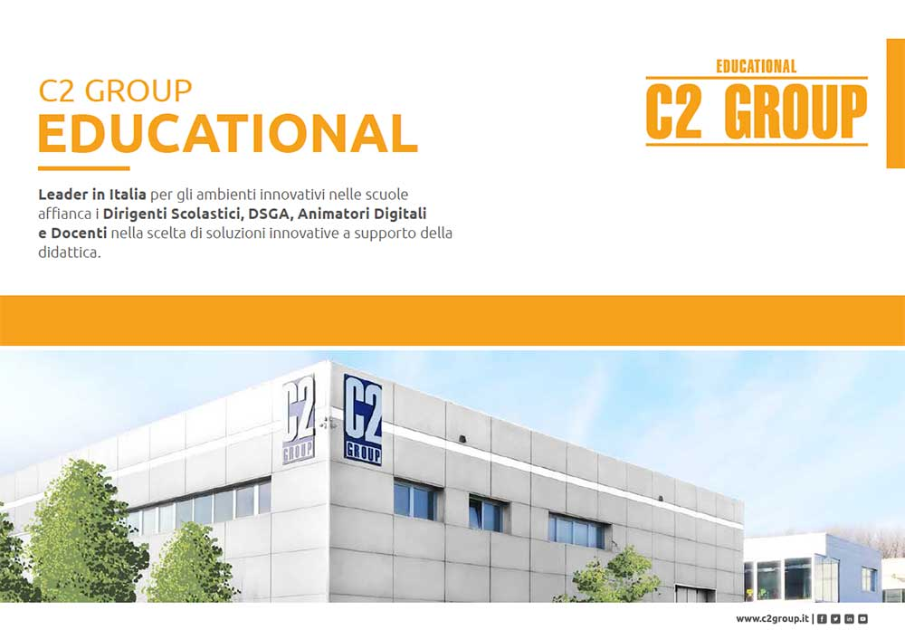 copertina brochure Team educational