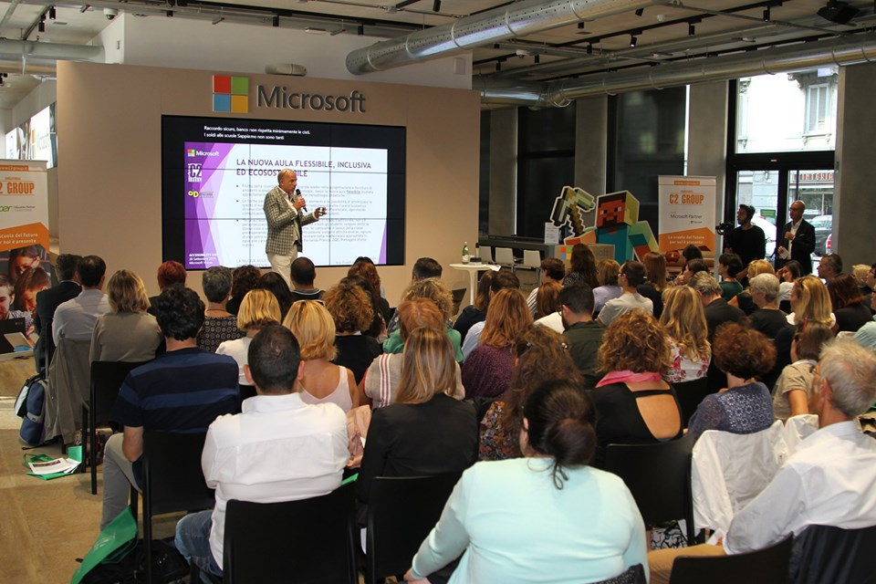Accessibility Day in Microsoft House con C2 Group 123