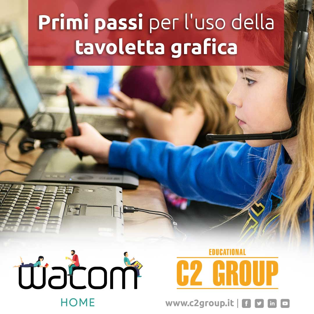 newsletter webinar primi passi Wacom C2Group